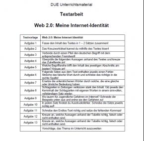 web 2.0: Meine Internet-Identität