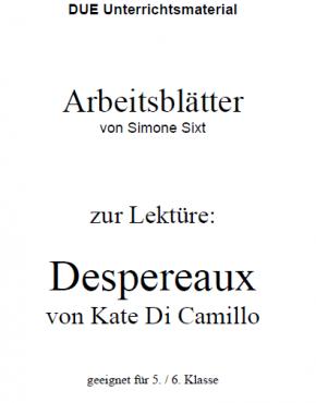 Arbeitsblätter zum Buch Despereaux