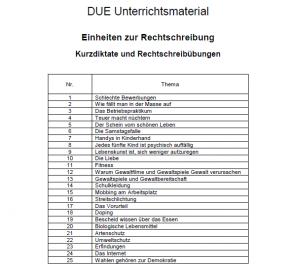 CD Einheiten zur Rechtschreibung