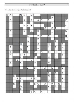 Kreuzworträtsel 10