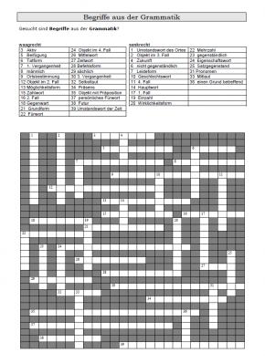 Kreuzworträtsel 5