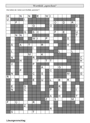Kreuzworträtsel 6