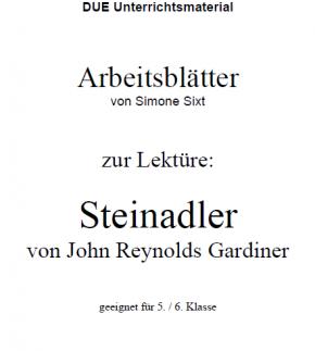 Arbeitsblätter zum Buch Steinadler