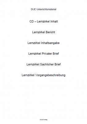 CD Lernzirkel Aufsatzlehre